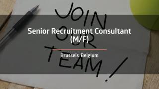 Senior Recruitment Consultant - Life Science (F/M)