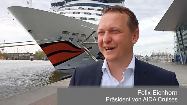 Aida-Kreuzfahrten 2021: Was ist trotz Corona möglich, Herr Eichhorn? (Video: Benjamin Barz, 10.5.2021)