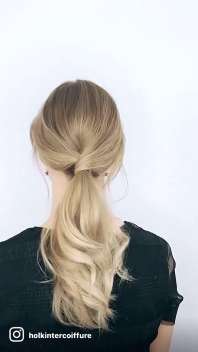 Håret knold i Håropsætning
