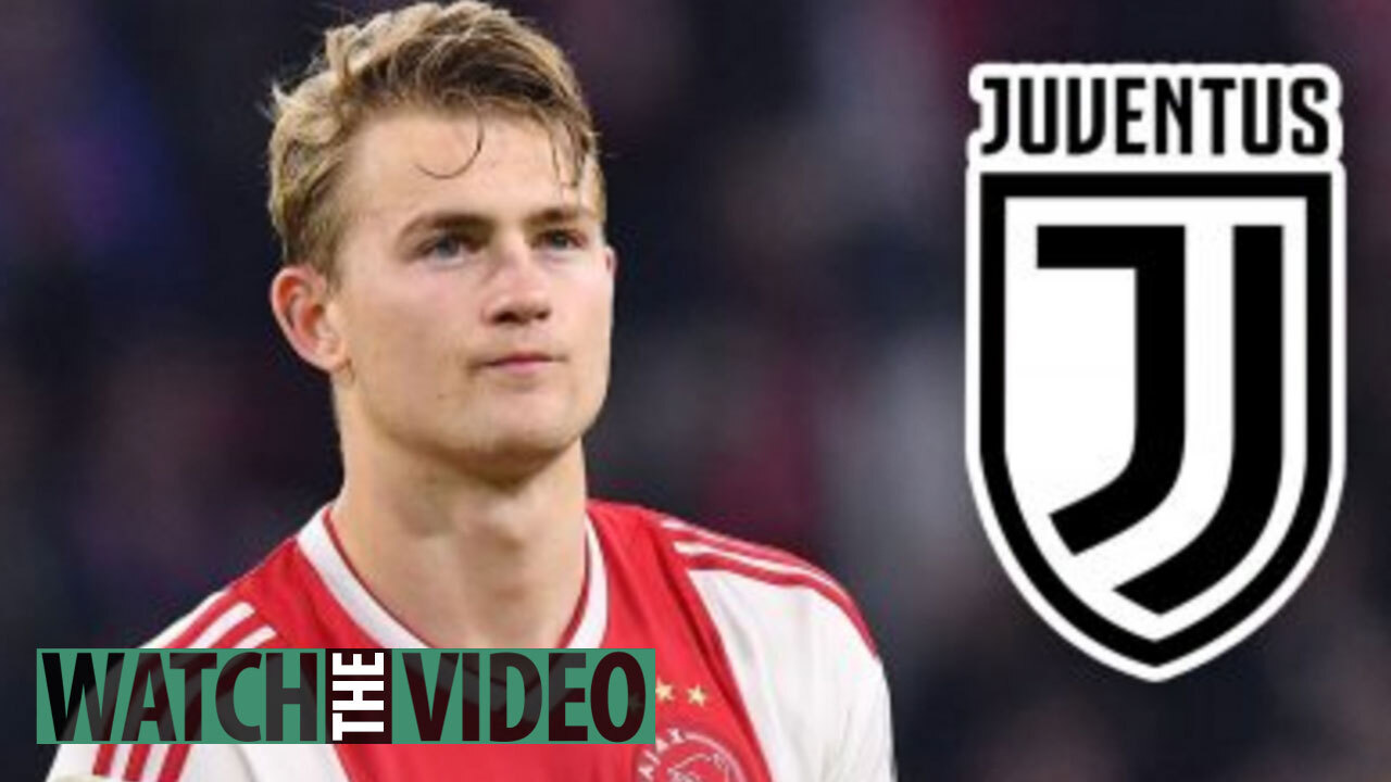 acff0db2 Juventus agree £67.5m transfer fee with Ajax for Matthijs De Ligt in ...