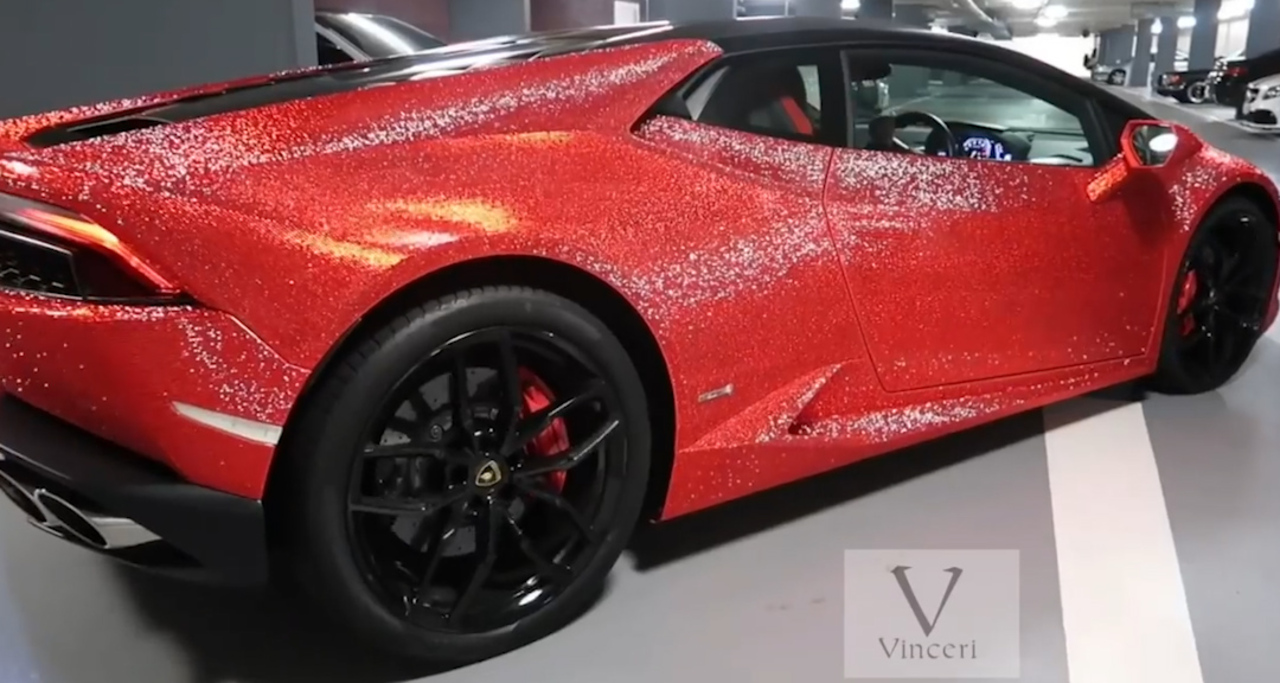 Instagram Model Gets 150k Lamborghini Huracan Covered In 1 3million