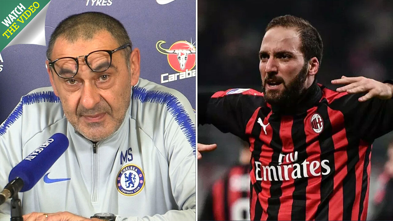 Cheeky fans troll higuain with nutella boxes after he completes chelsea  transfer jpg 1280x720 Gonzalo higuain ec0d22c79