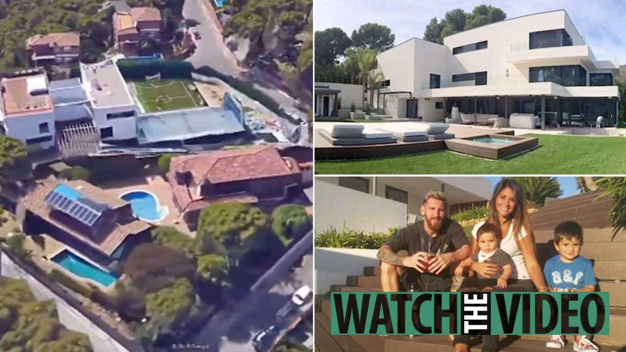 Inside The Incredible Life Messi Built In Barcelona Including 5m House 12m Private Jet And Amazing Car Collection