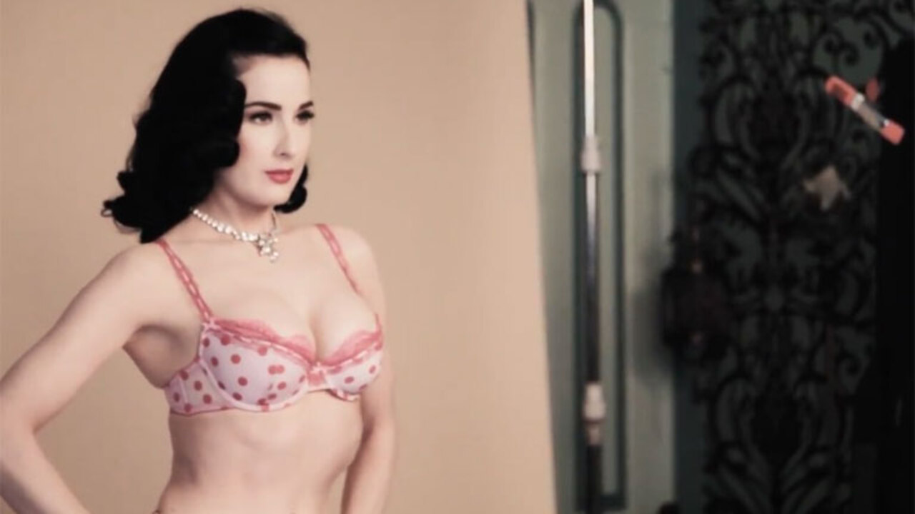 d3425c89648f Why Dita Von Teese s boyfriend finds her sexier when she s covered up — as  she chats feminism