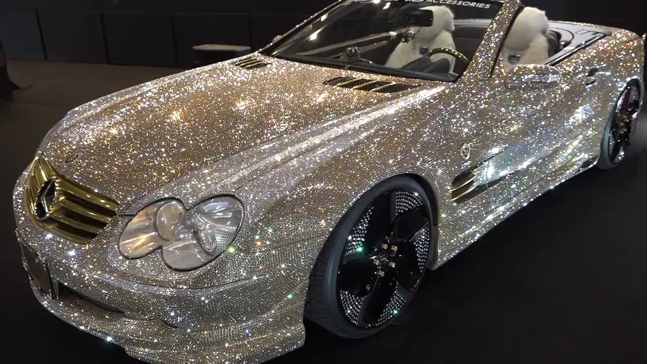 Marvelous Luxury Custom Car Firm Garson Showcased Their Swarovski Crystal Studded  Mercedes Benz SL 600 At The Tokyo Car Show U2013 The Sun