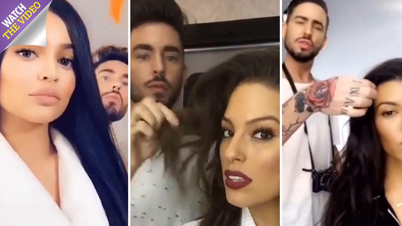 Kourtney Kardashian S Hairdresser