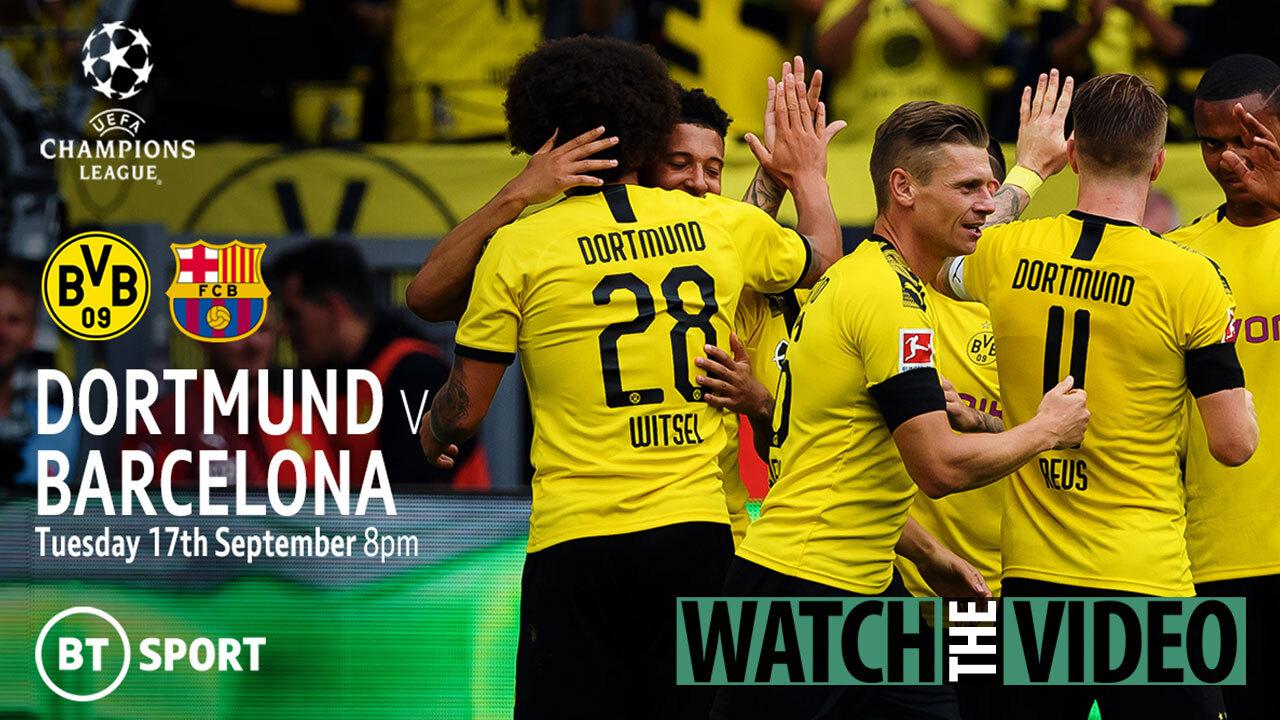Dortmund Vs Barcelona Live Stream Score Tv Channel And