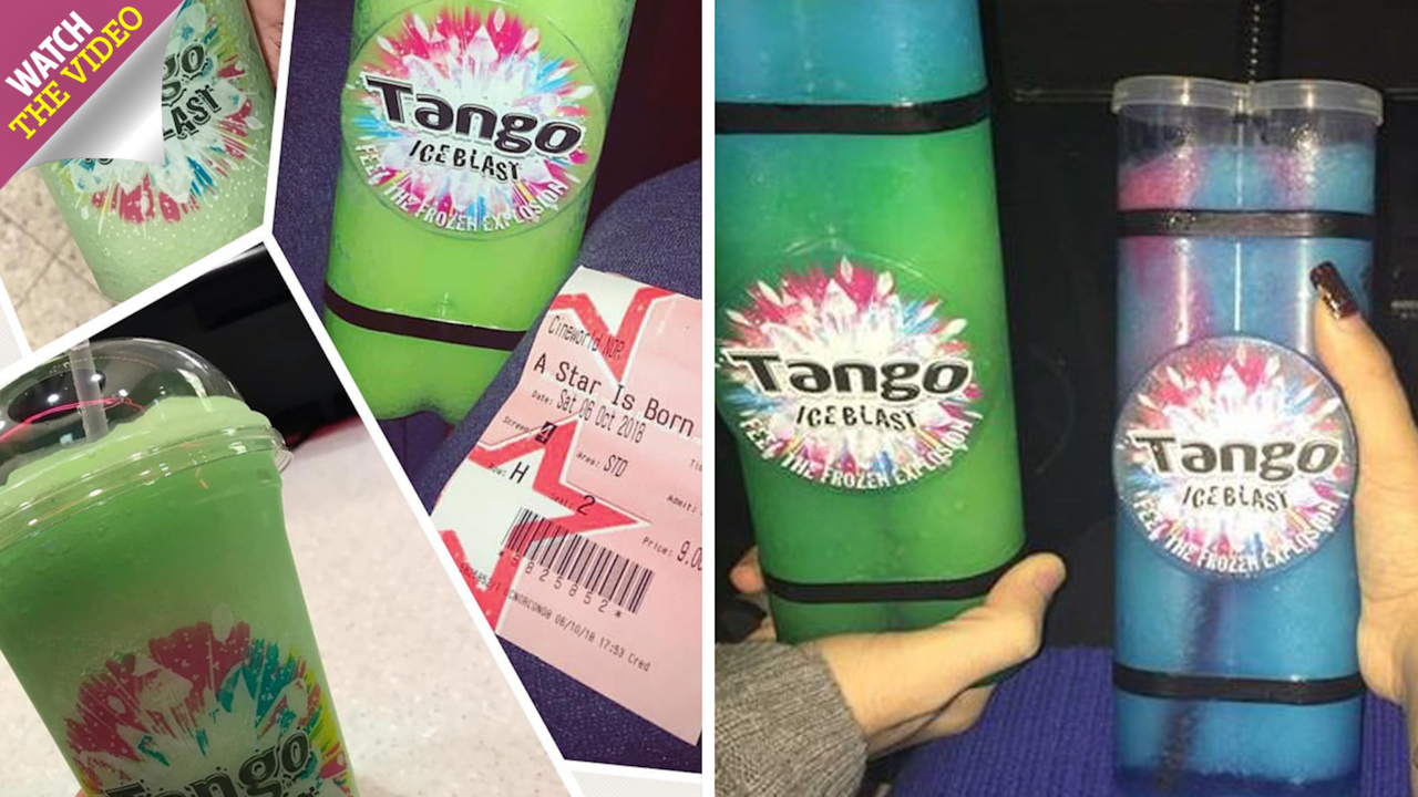 Cineworld axes Tango Ice Blast slushies and viewers are threatening