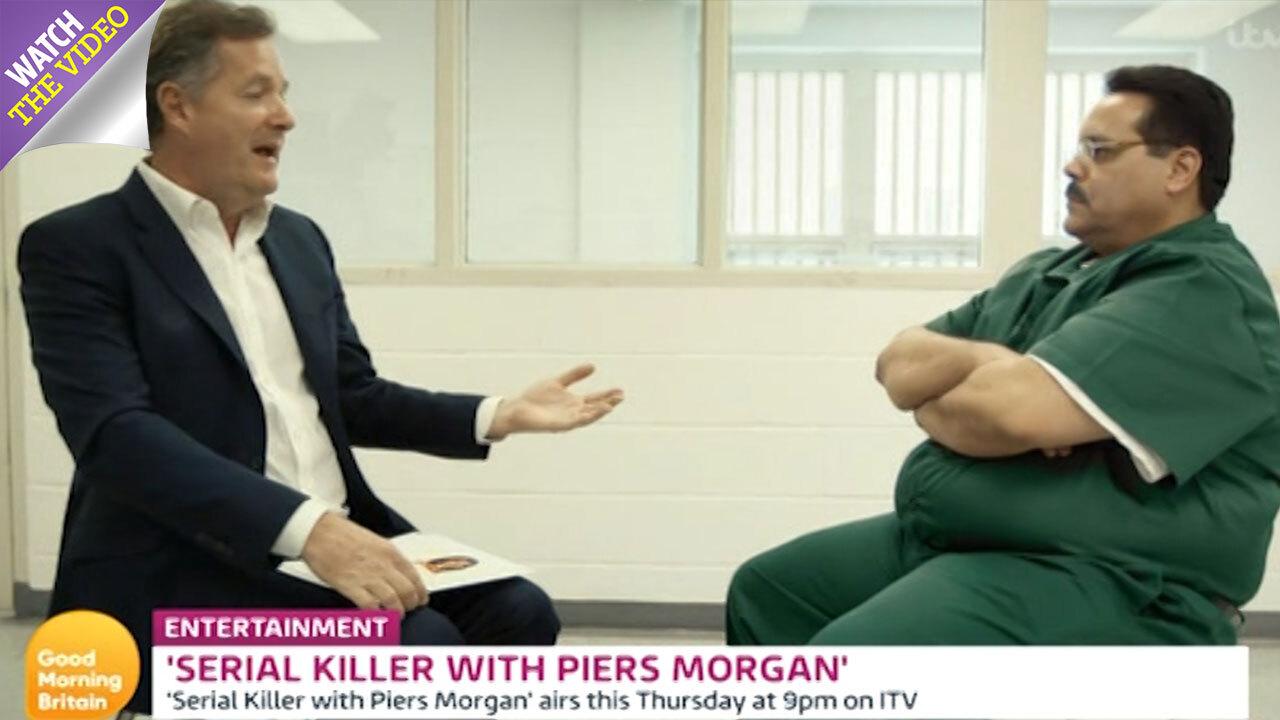 Piers Morgan interviews convicted serial killer Alejandro 'Alex