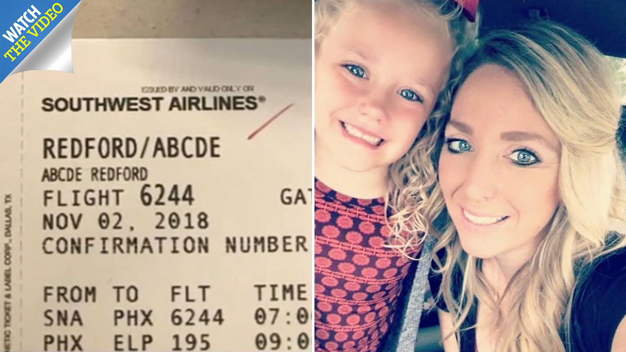 Southwest Airlines Gate Agent Mocks 5 Year Old Girl S Name Abcde And