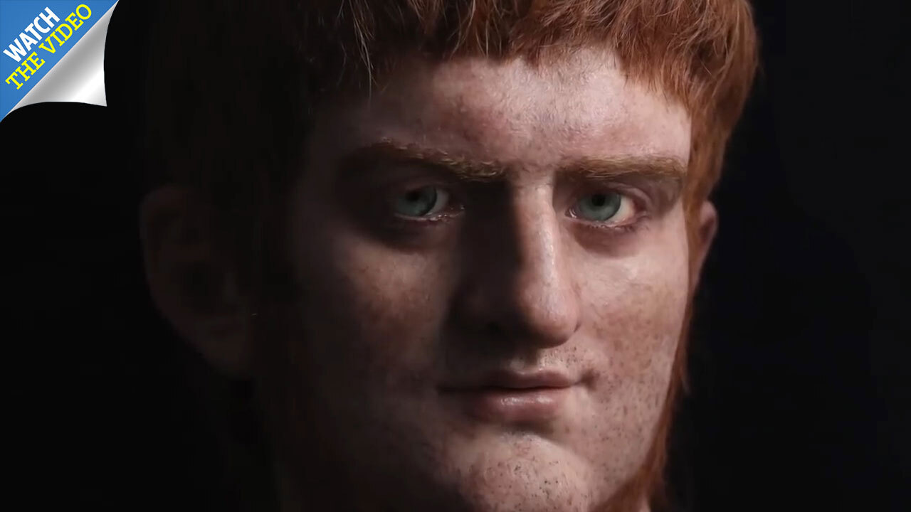 Ginger tyrant' Emperor Nero's face reconstructed in 3D for first