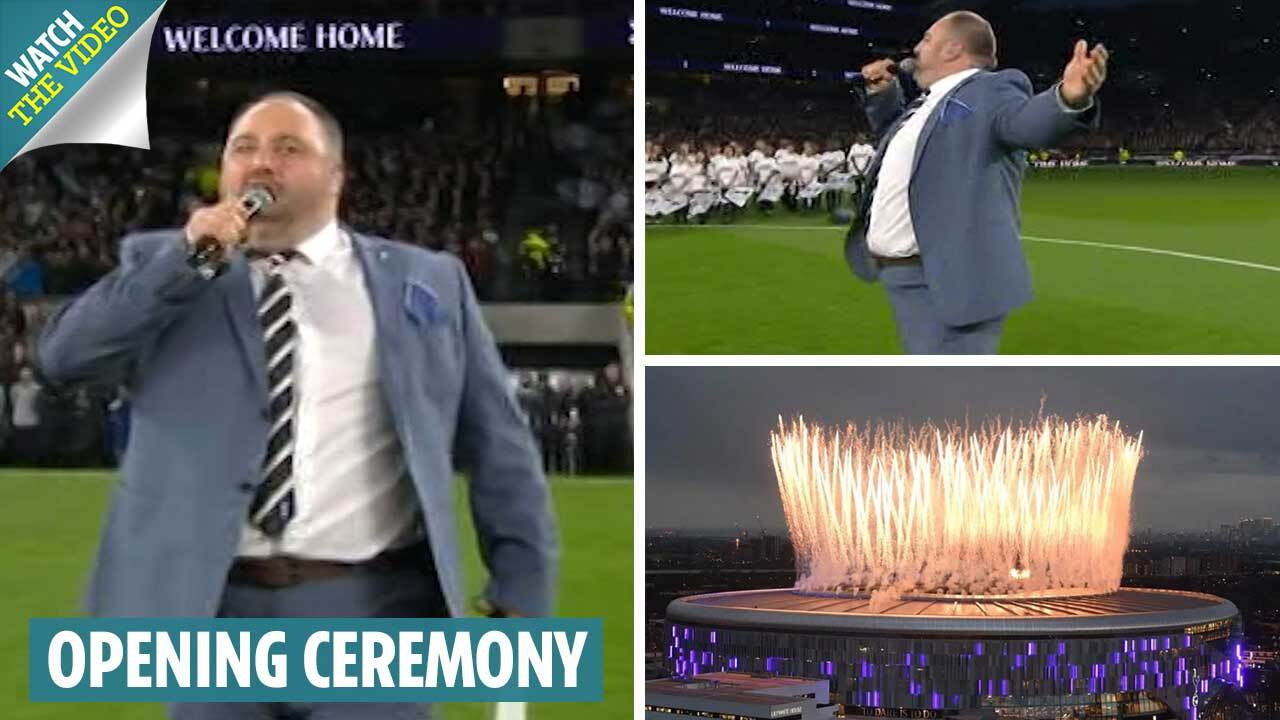 Twitter users mock Spurs new stadium opening ceremony as