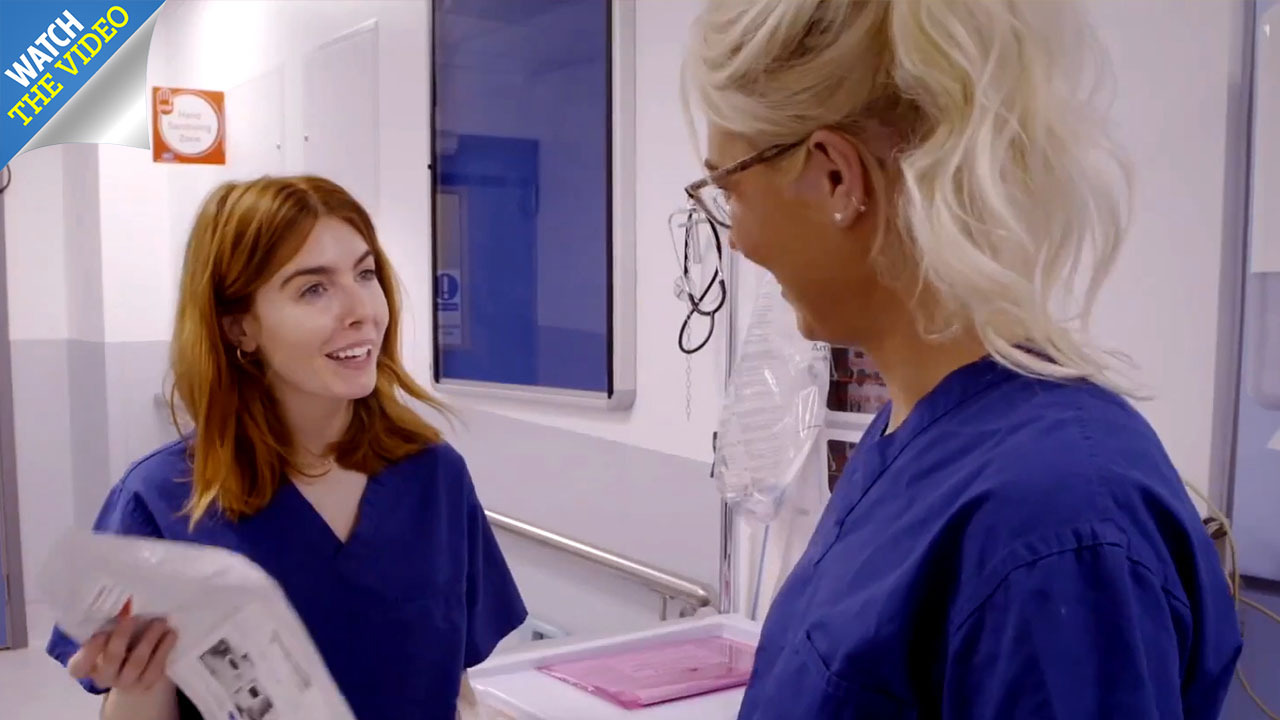 What time is Celebrities on the NHS Frontline start on BBC