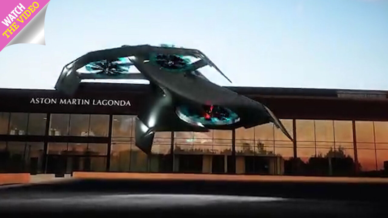 Aston Martin S New James Bond Style Three Seater Volante Vision Aircraft Is Half Plane Half Drone And Costs Up To 5million