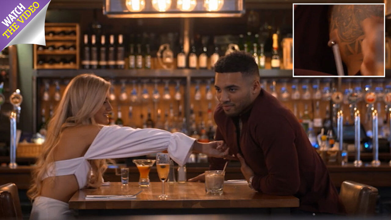 Amy Walker Naked ibiza weekender's callum izzard lets date rub his nipple on