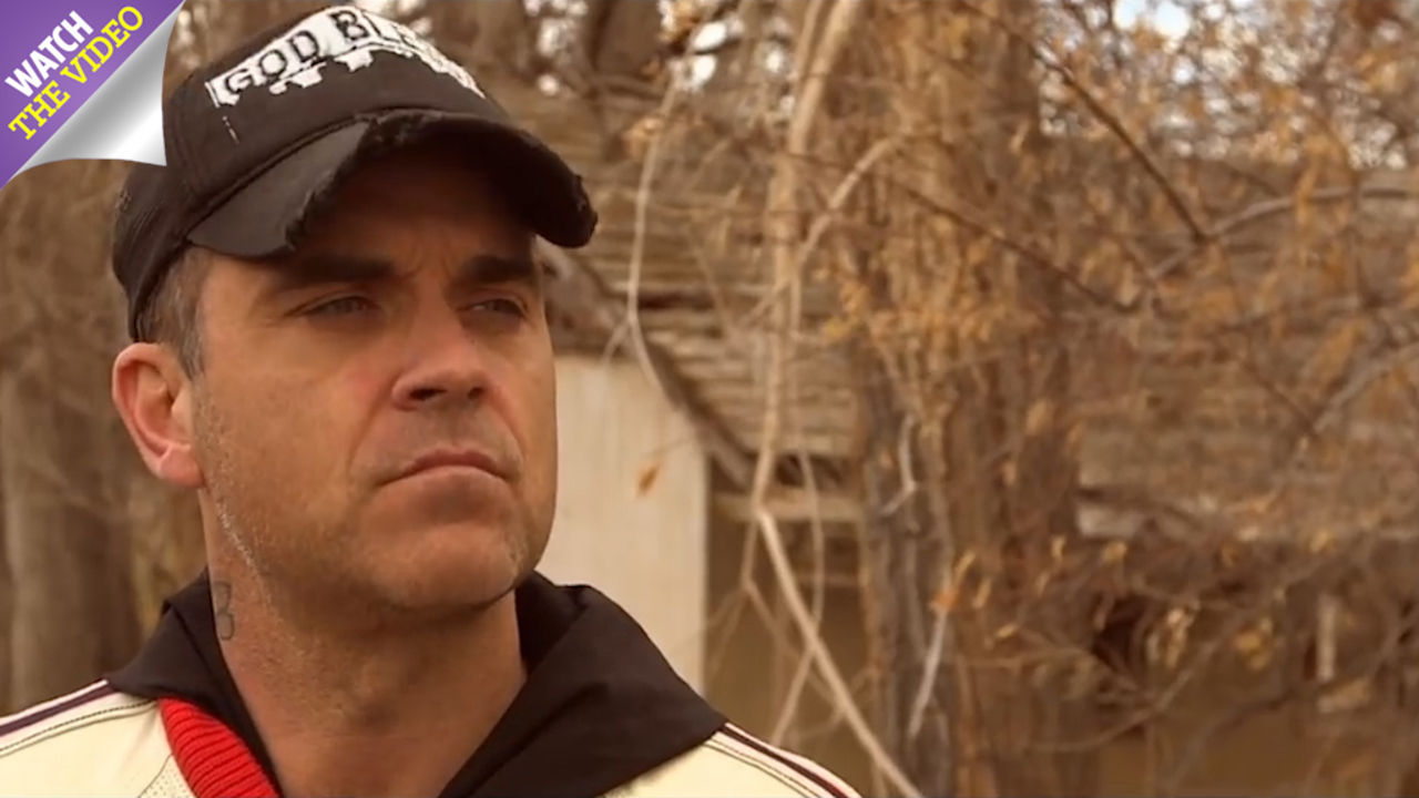 Robbie Williams hunts for aliens at ranch plagued by paranormal