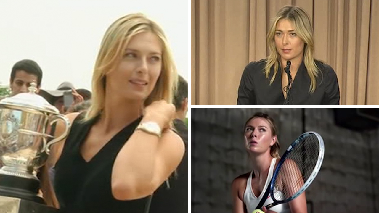 de2db6bc3a1b Maria Sharapova says she will appeal after her two year ban was announced