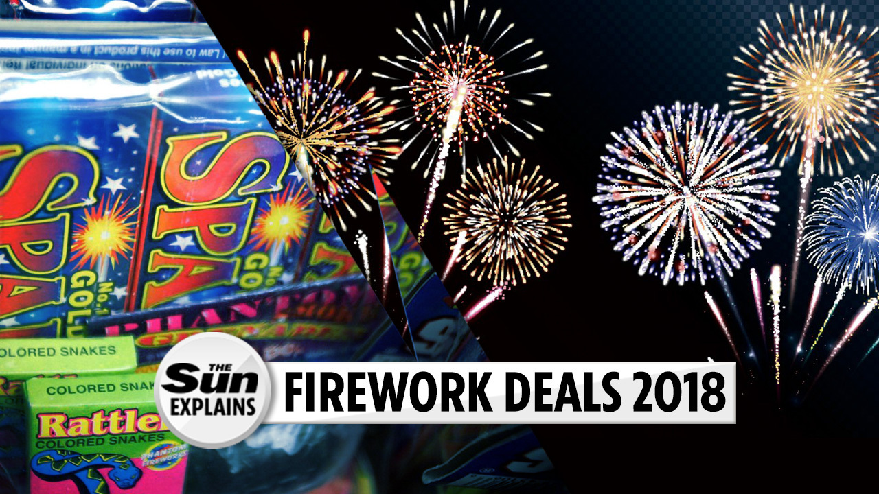 Best supermarket fireworks 2018 – where to buy cheapest including