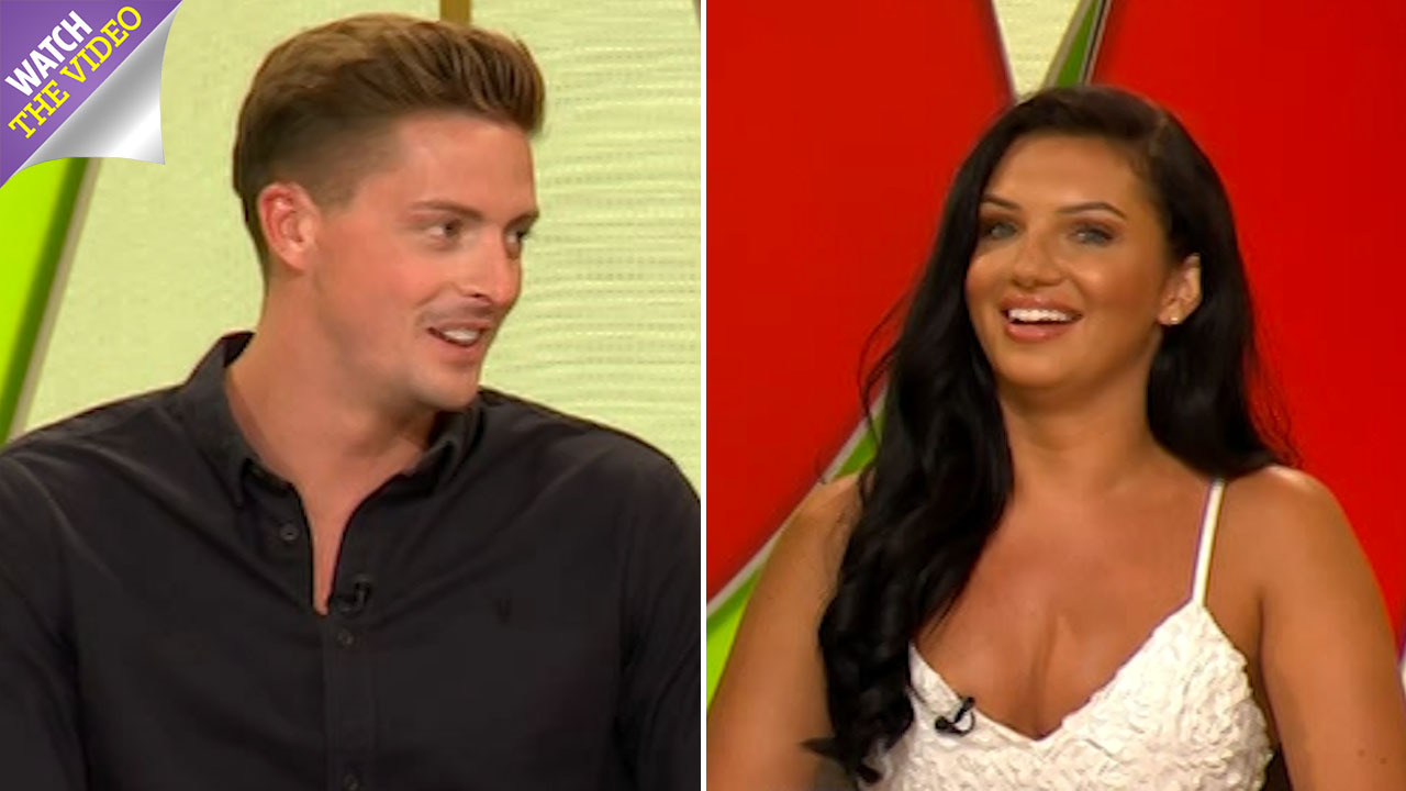 f94fe5d8709b11 Love Island s Dr Alex confirms he IS going back to work in A E as Alexandra  shuts down any chances of them getting back together outside the villa