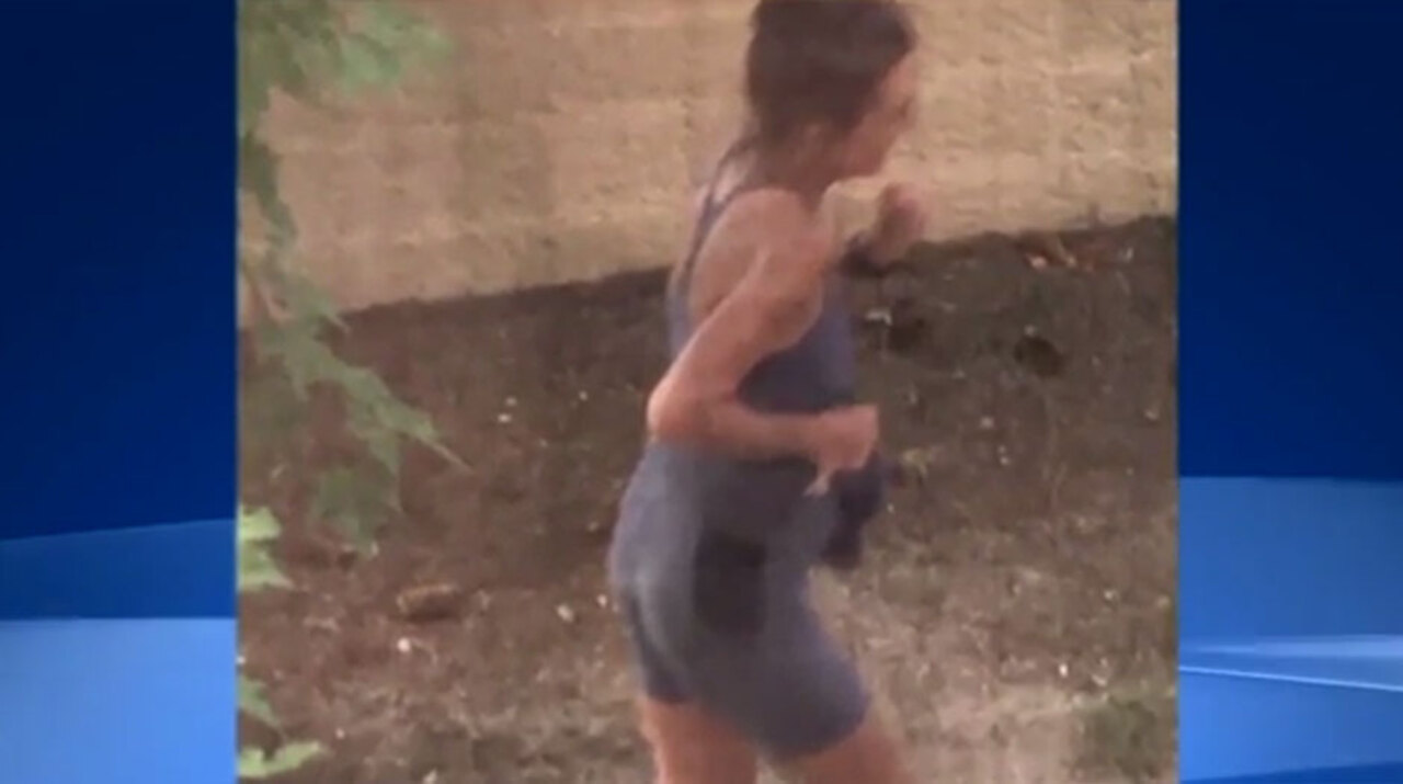 Cops hunt female jogger dubbed the 'mad pooper' after she
