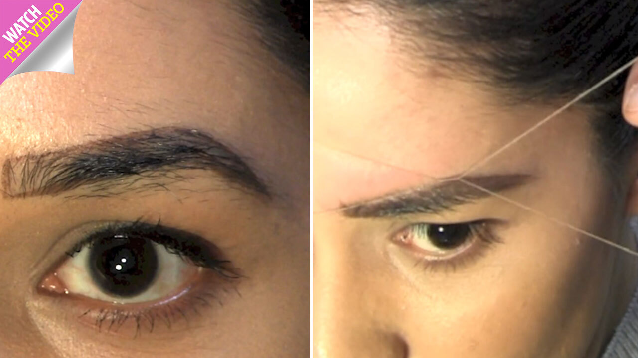 How to thread your own eyebrows – how often should you do it, does