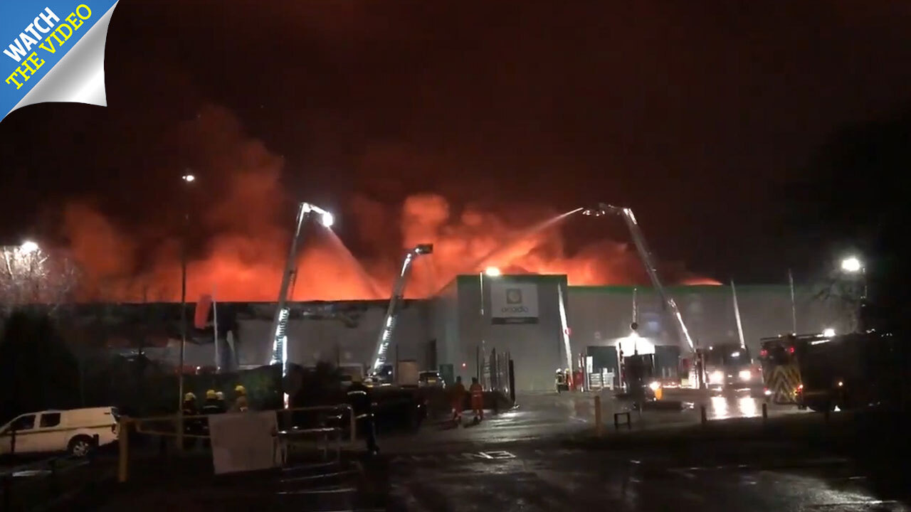 Ocado warehouse fire – how did the blaze in Andover start