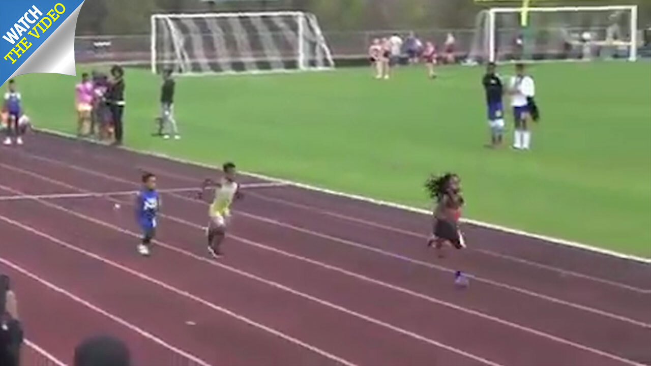 Super-athletic boy, 7, labelled the 'fastest kid in the