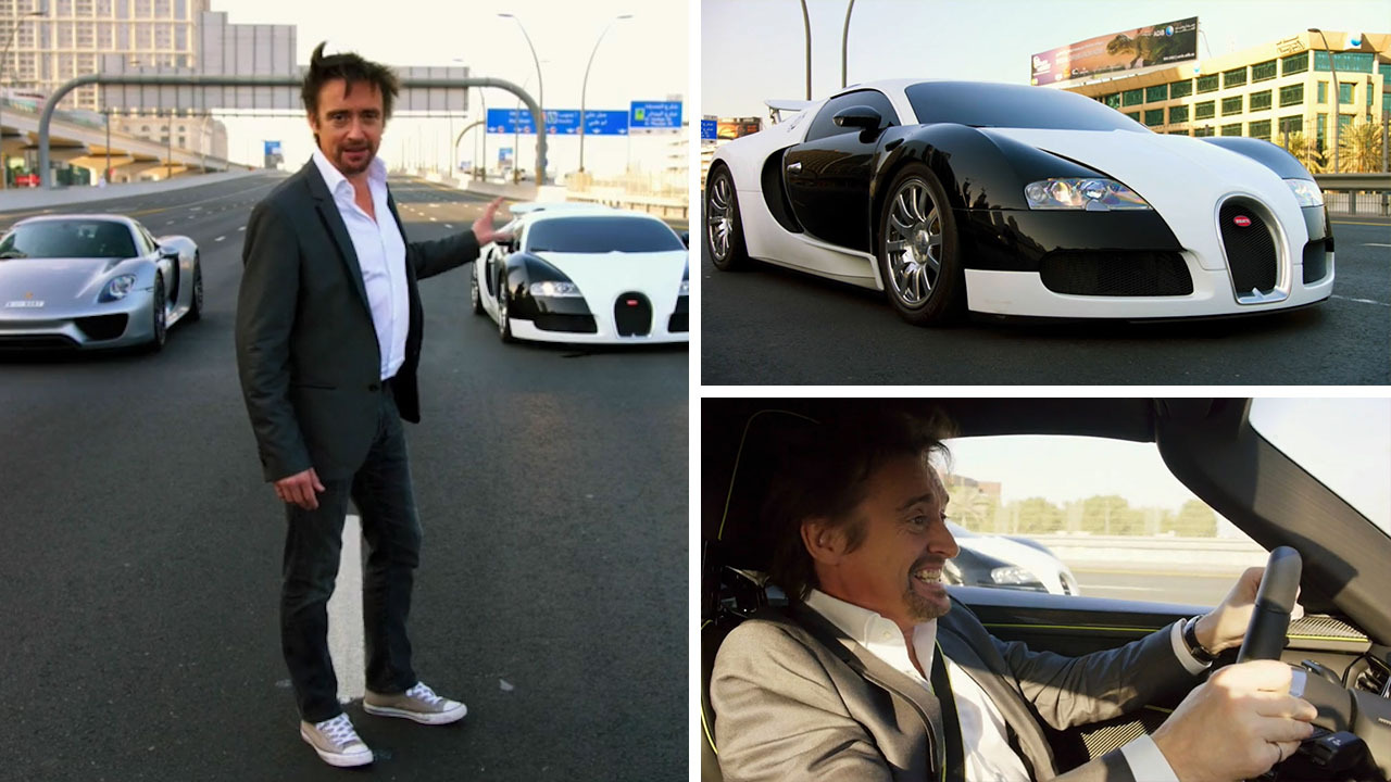 The Old Bugatti Veyron Is Raced Against A Porsche 918 In The Grand Tour  Finale U2013 The Sun