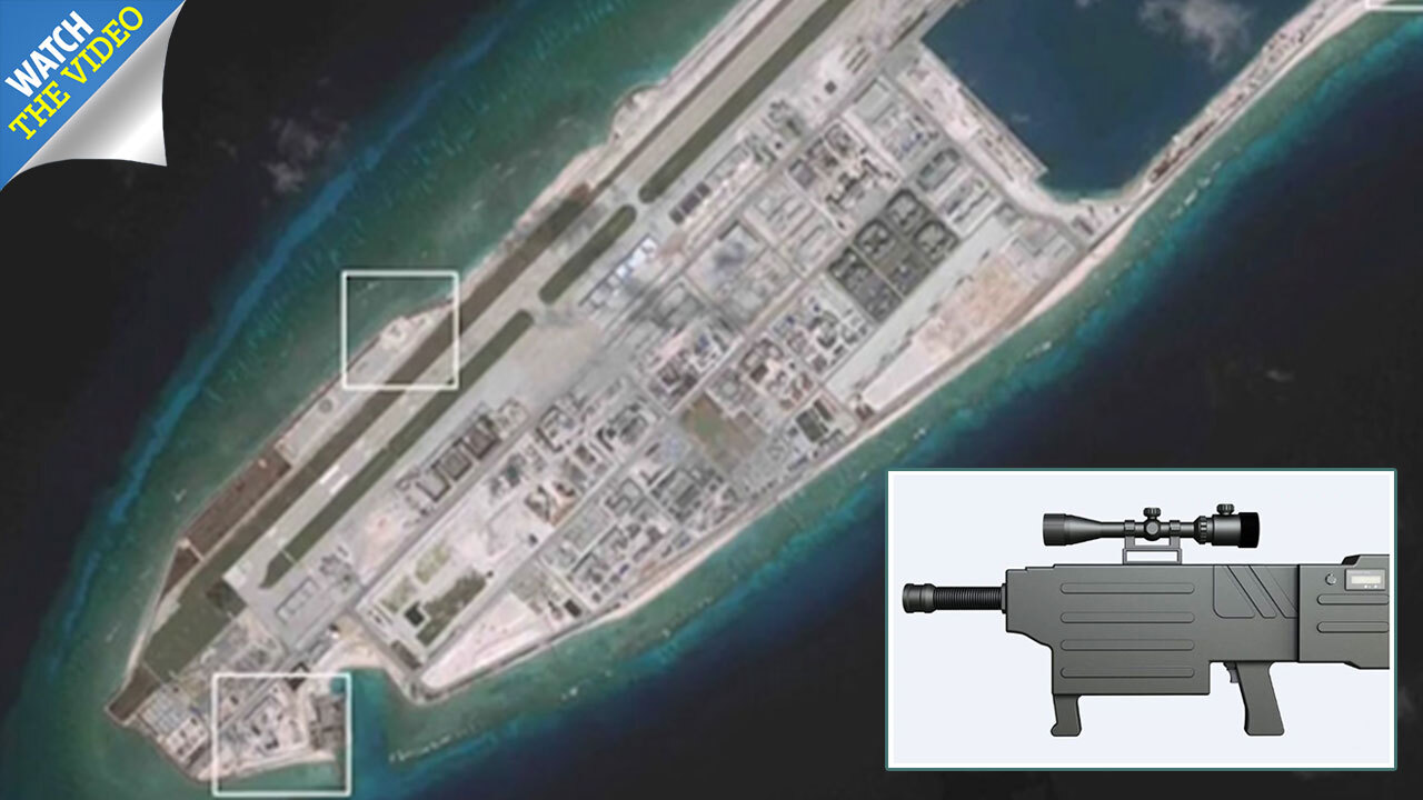China's new laser gun that 'can incinerate targets from