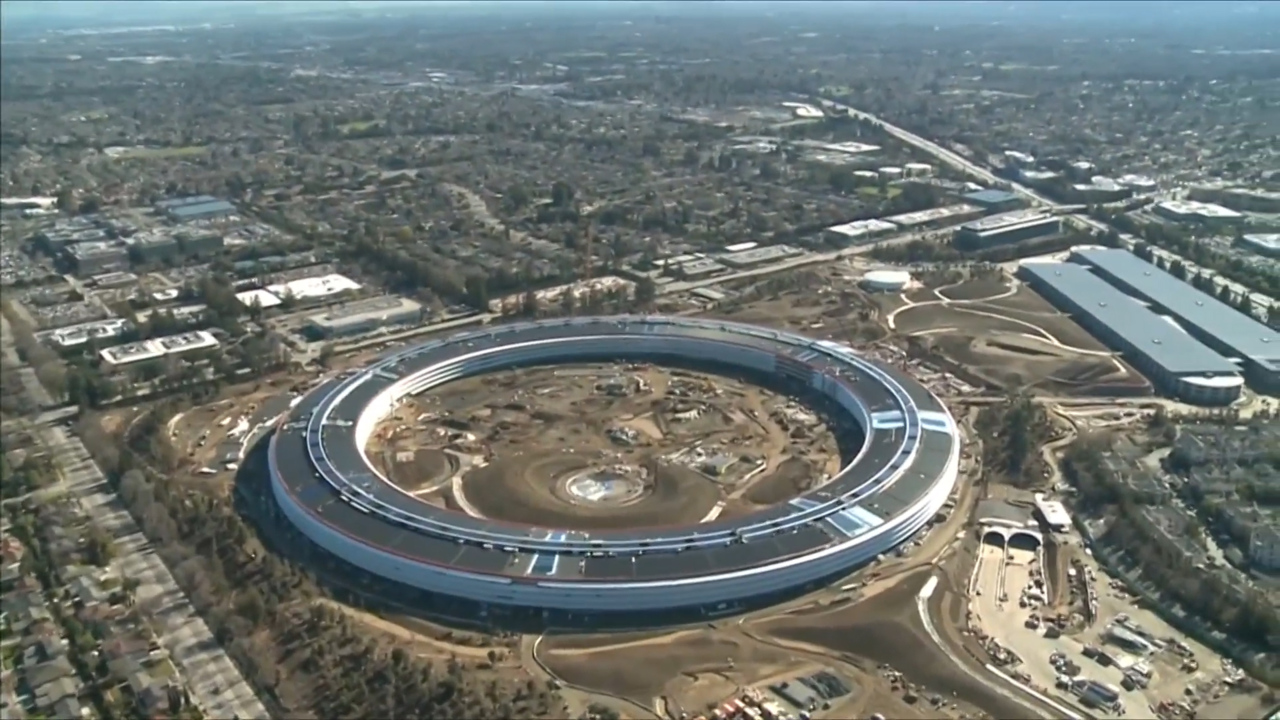 Apples Spaceship Campus Is Almost Finished And These Aerial Pictures Show How AMAZING It Looks