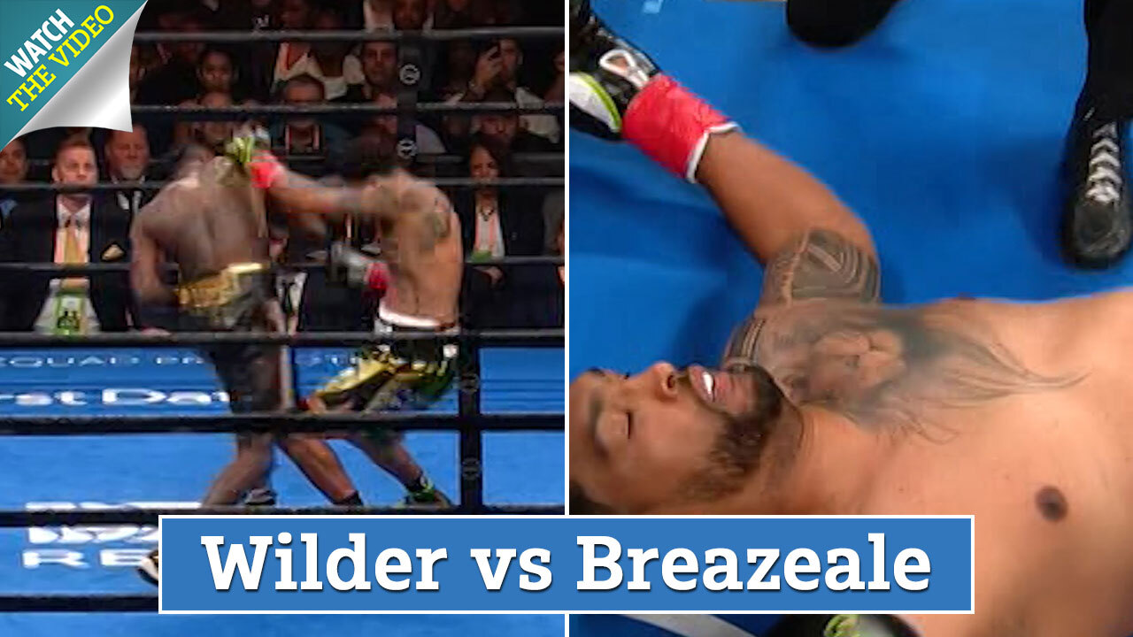 Deontay Wilder's punching power 'should be illegal' as fans call for