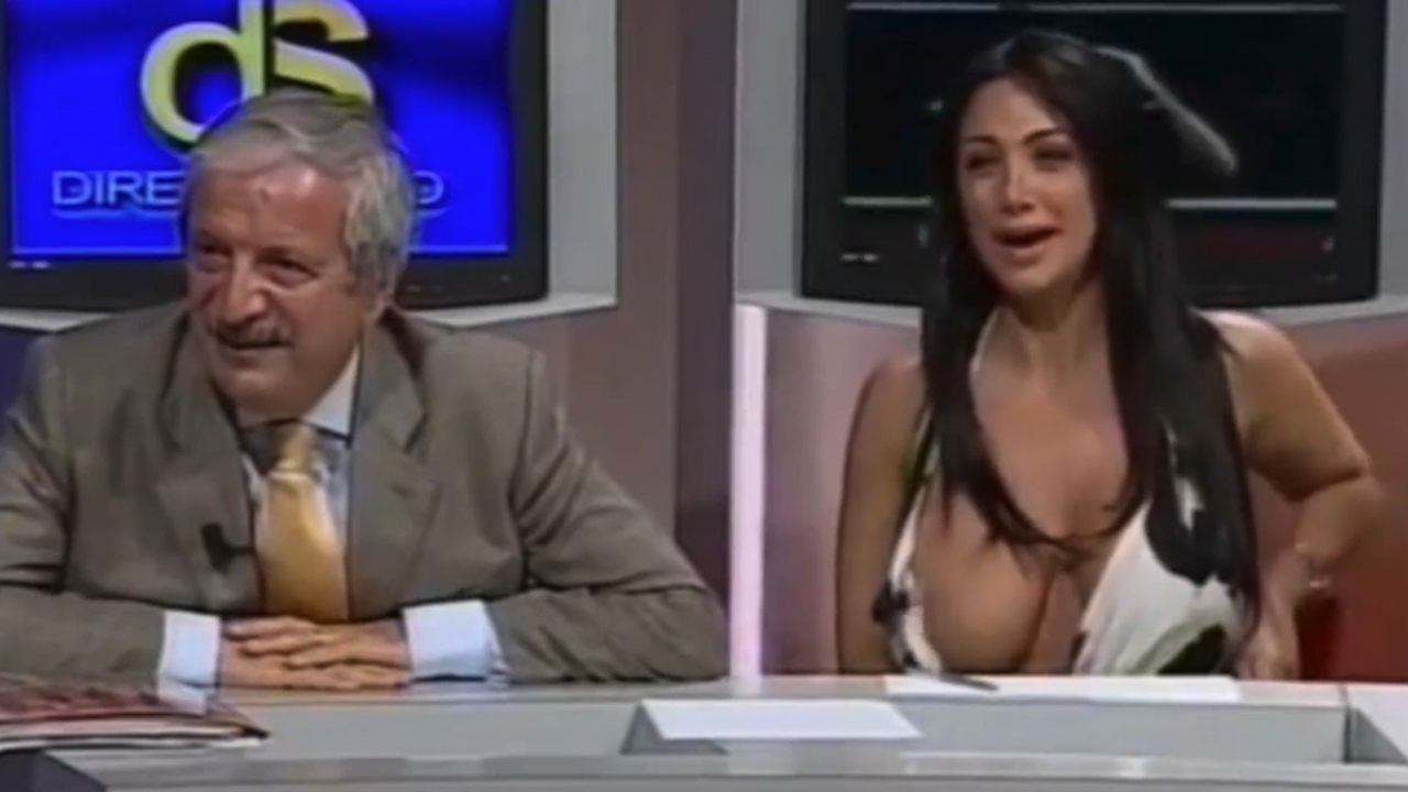 News Anchor Nipple Slip