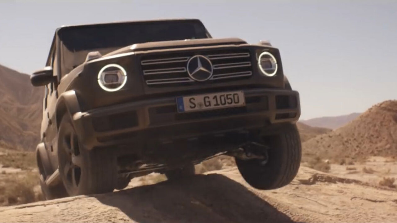 New Mercedes G-Class launched by Arnold Schwarzenegger – and
