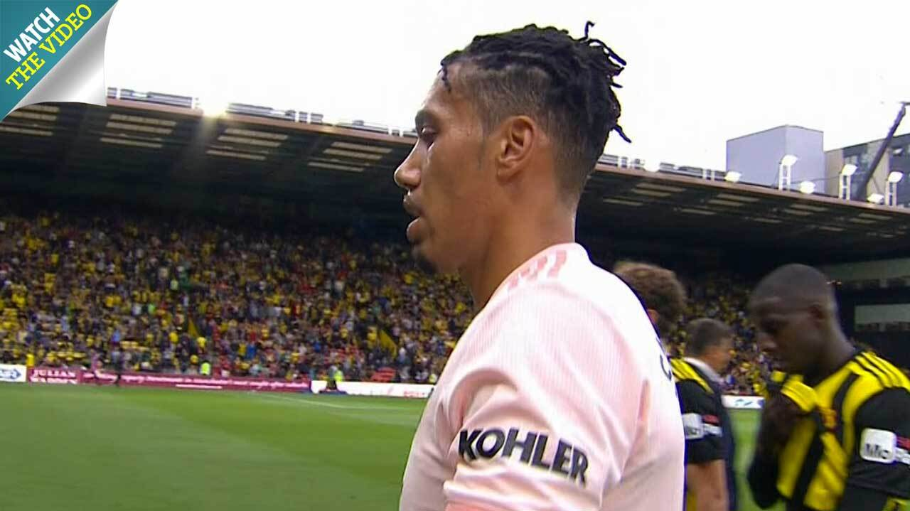 Chris Smalling Gets A New A Funky New Haircut And Celebrates With A