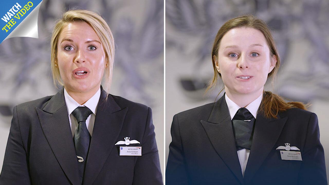 British Airways warns cabin crew about wearing 'wrong bras