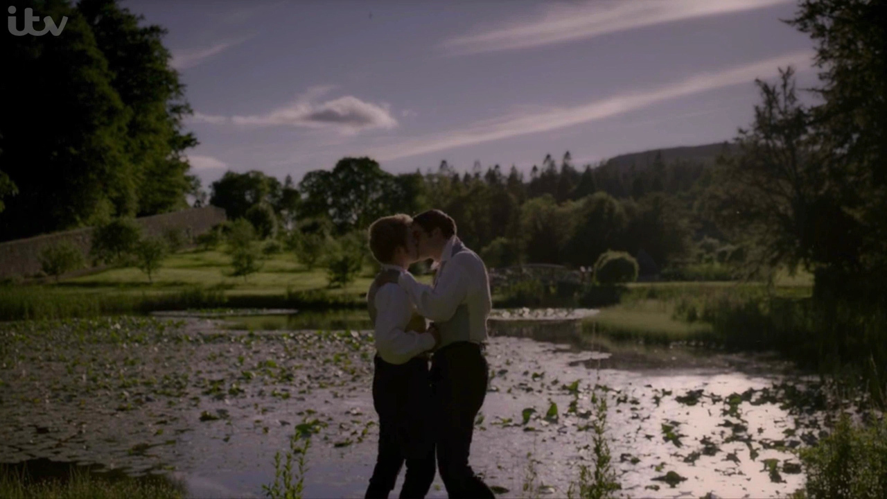 Victoria airs first gay kiss between Lord Alfred Paget and Edward
