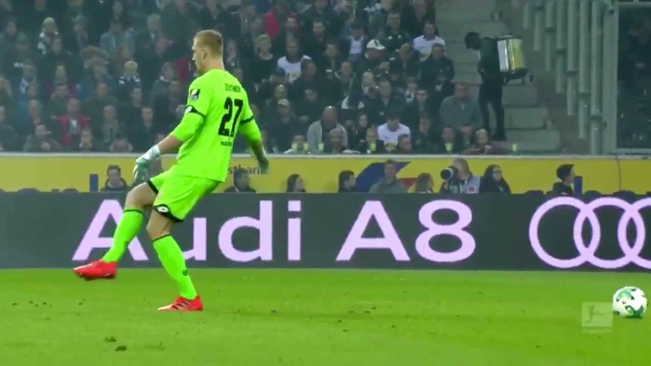 Mainz Goalkeeper Robin Zentner Makes Hilarious Fifa Style Mistake