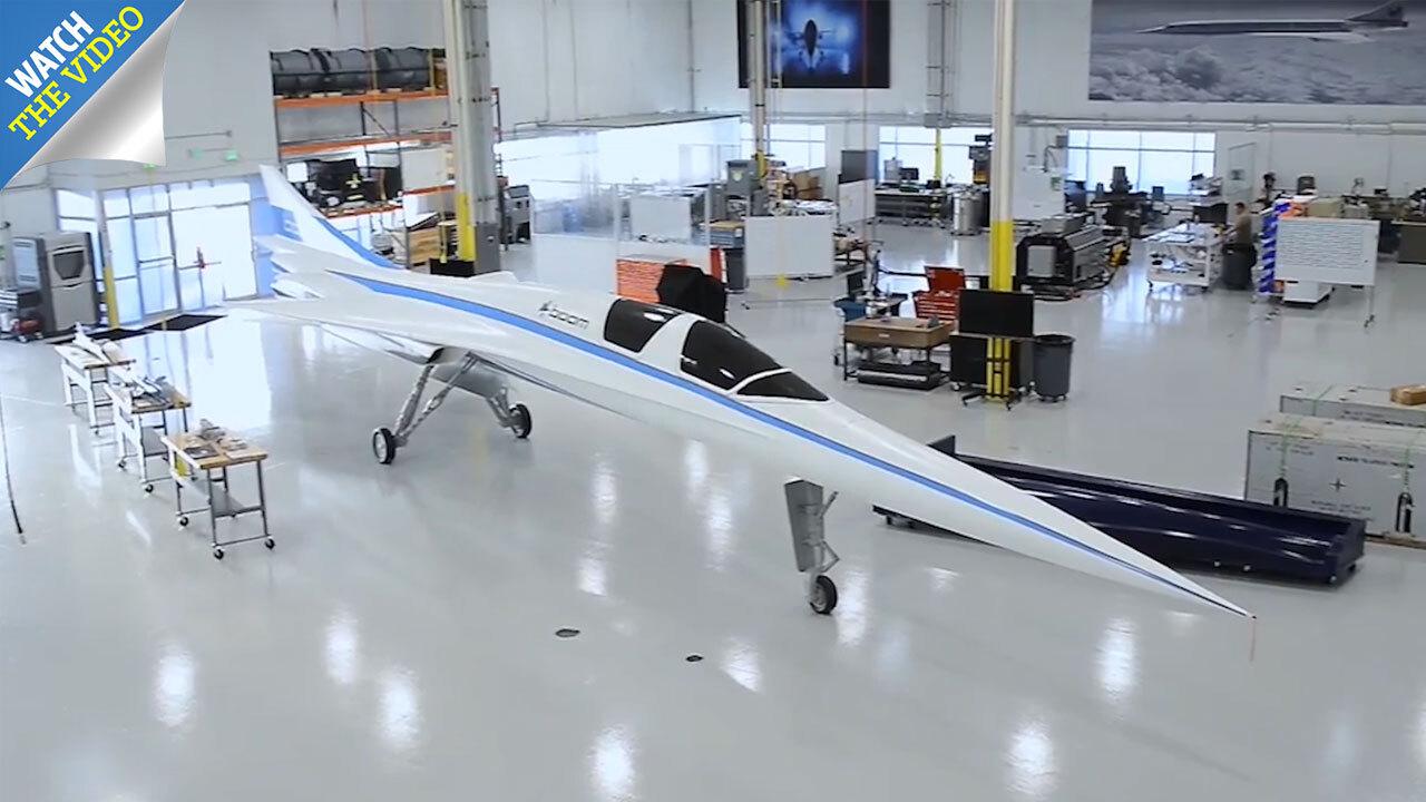 Boom Supersonic's 1,688mph 'Son of Concorde' jet to take
