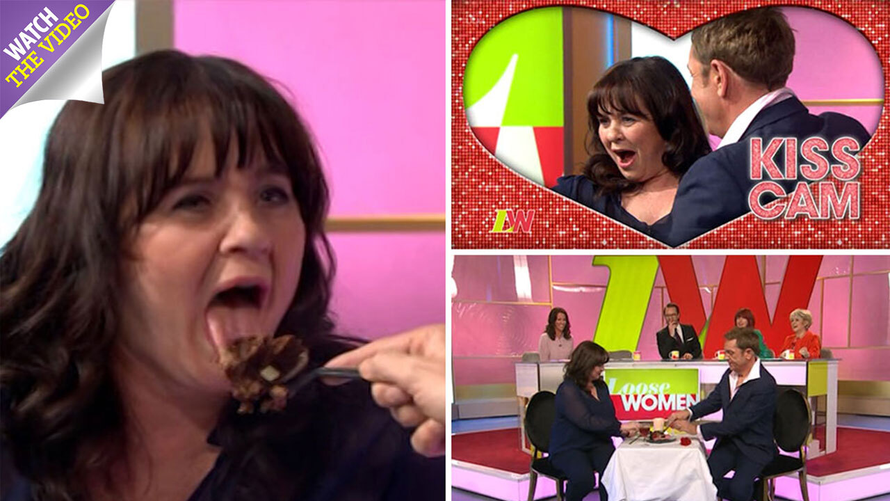Coleen Nolan goes speed dating with Brian Conley live on Loose Women ...