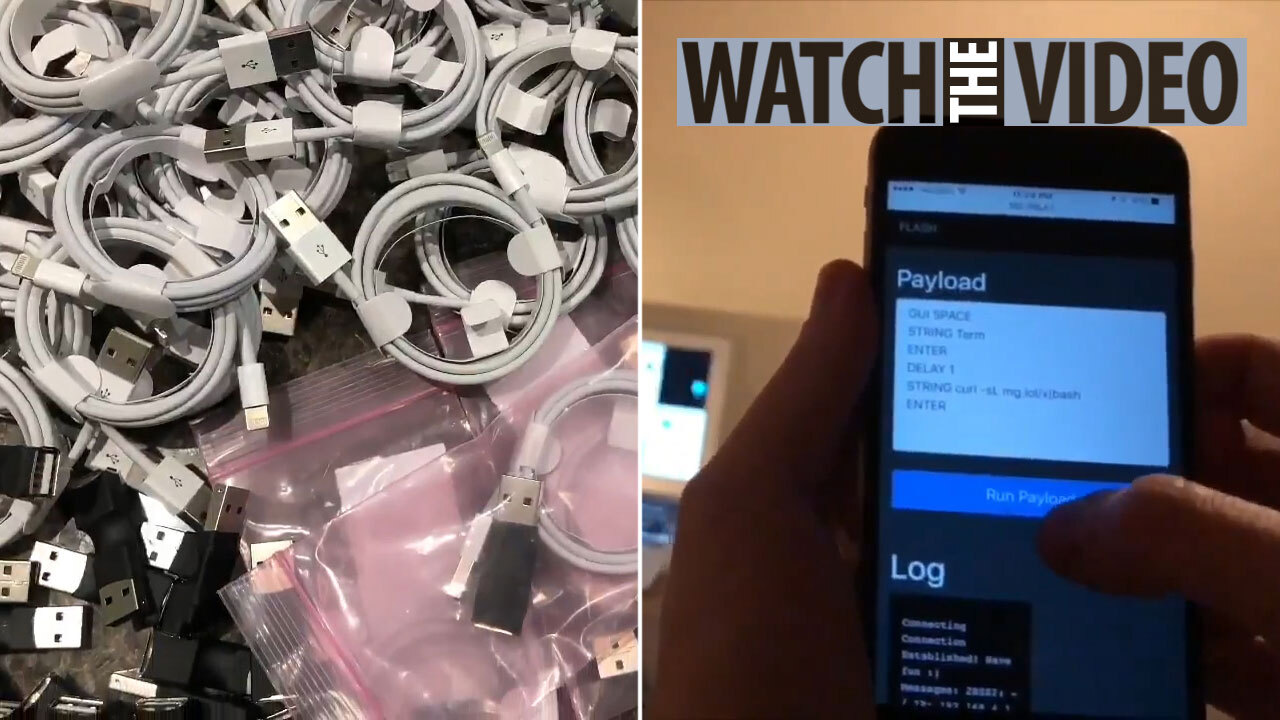 Hacked iPhone cables let cyber crooks hijack your gadgets