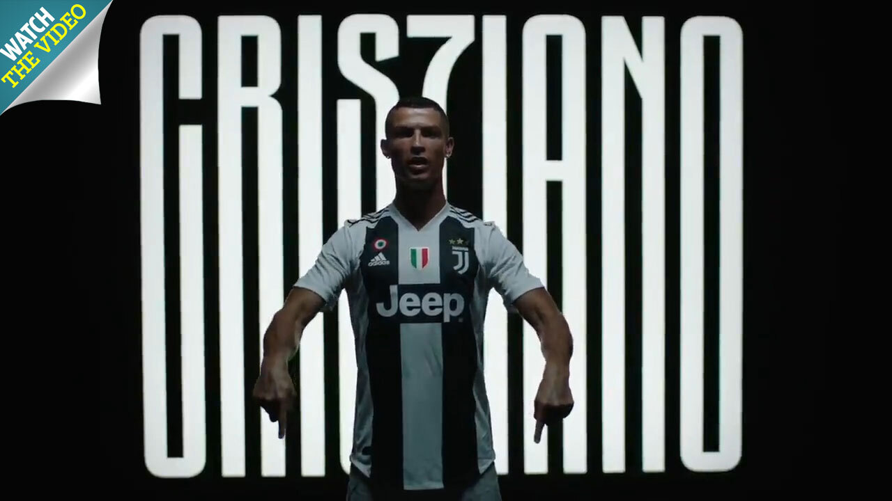 accc282549e Juventus unveil third kit made from ocean plastic set to be worn by  Cristiano Ronaldo