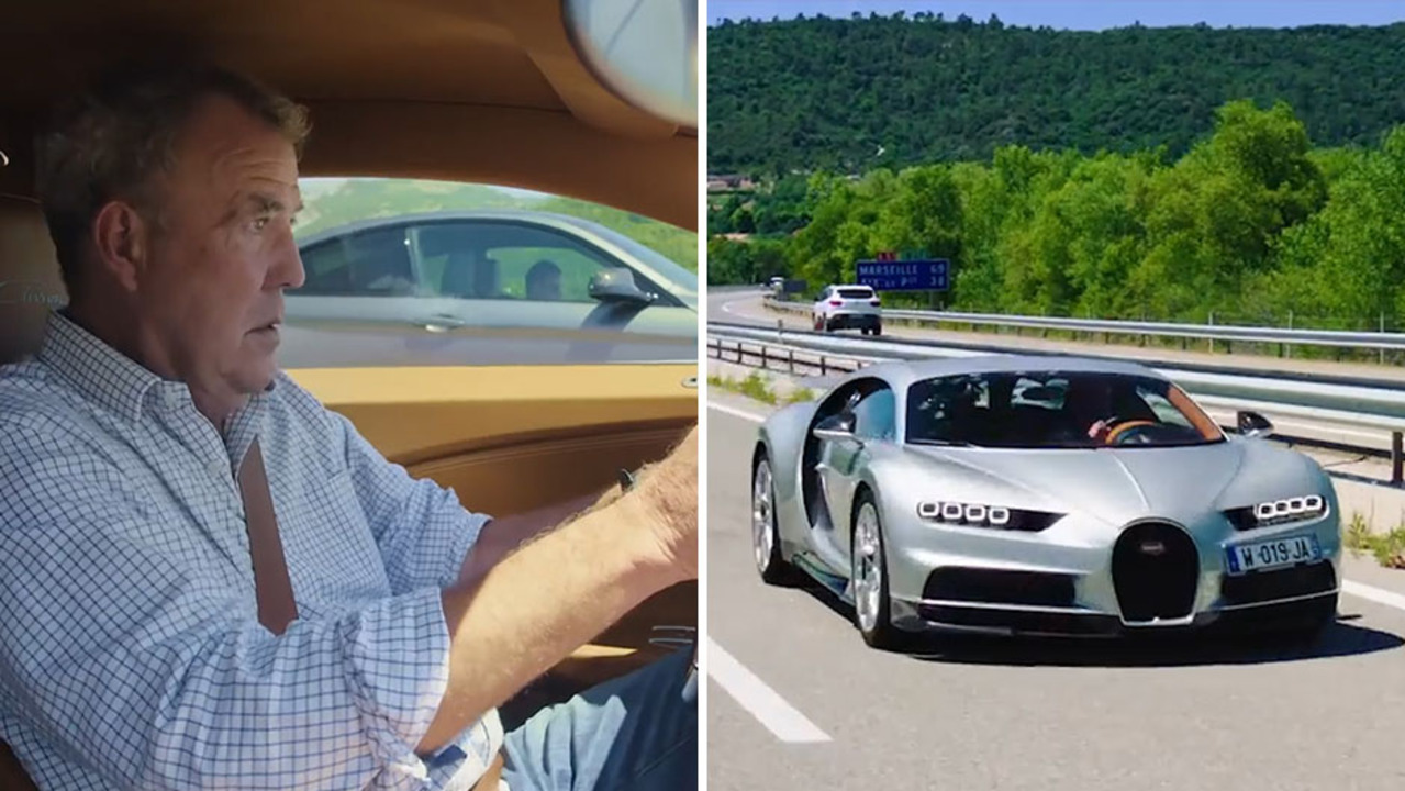 Jeremy Clarkson Gets Behind The Wheel Of A 1,479 Horsepower Bugatti Chiron  In The Grand Tour Episode 3 Trailer U2013 The Sun