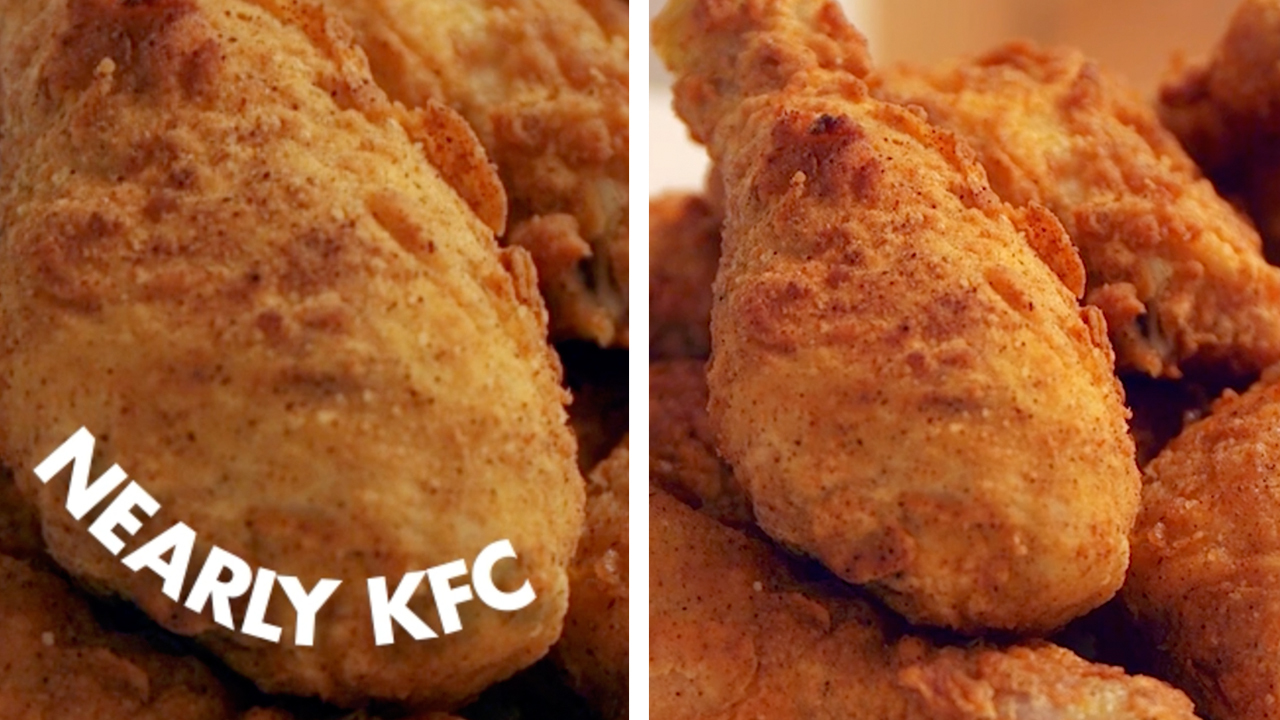 Try our easy fried chicken recipe you can make with supermarket