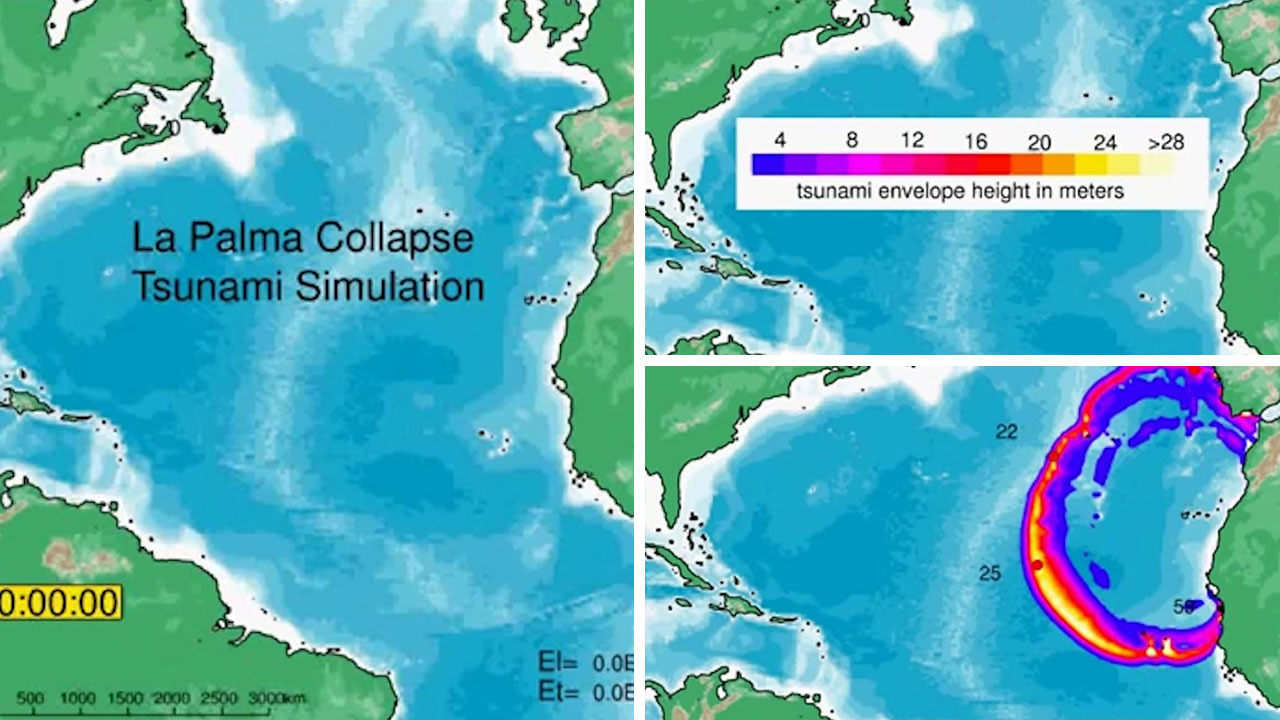 Mega-tsunami wave could wipe out New York and Miami at ANY