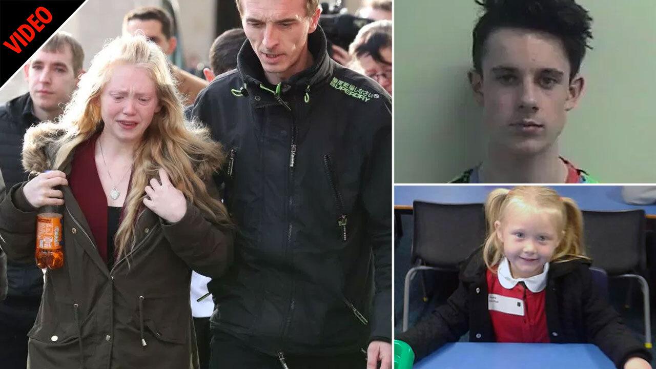 Sick teen, 16, who raped and murdered Alesha MacPhail, 6, was