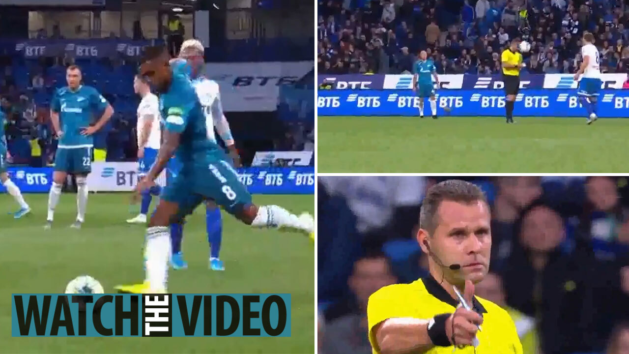 Russian Referee deadliest stares of all time