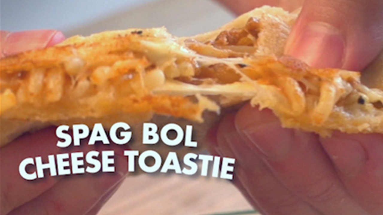 This spag bol toastie is a delicious alternative to boring