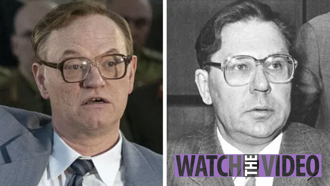 Chernobyl's cast look so similar to the real life people