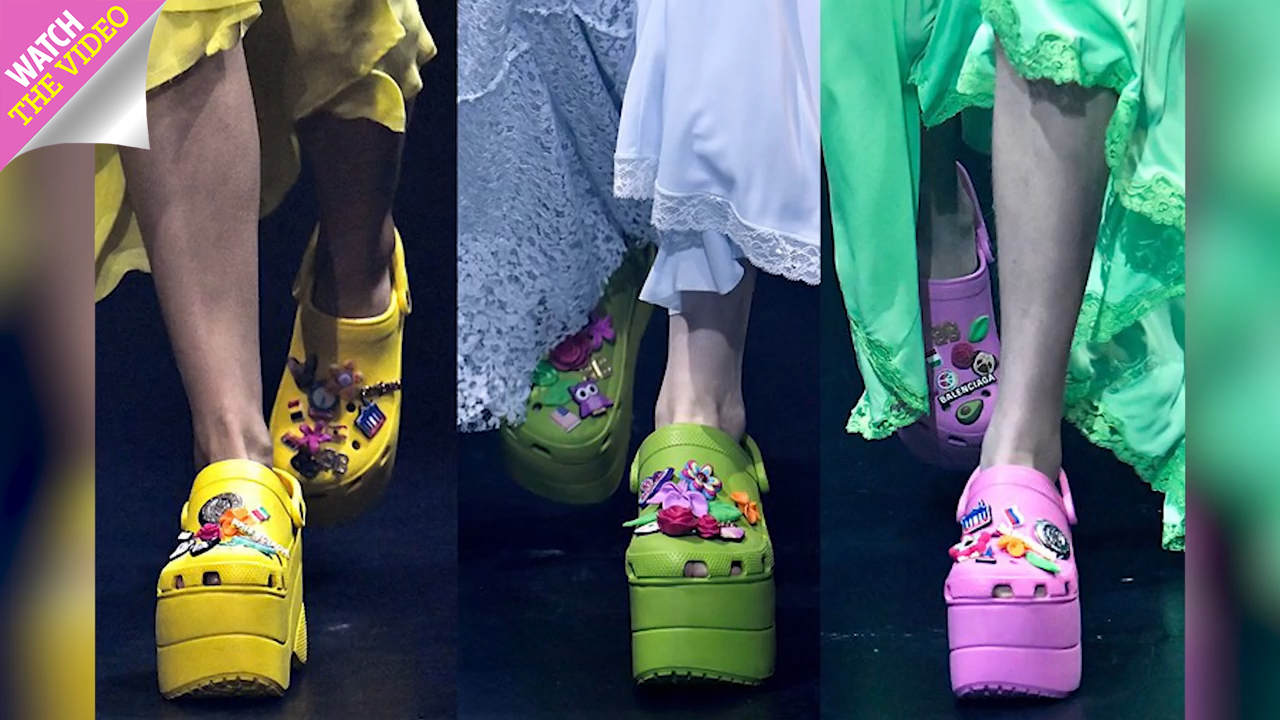 67ac2b194dc4 From pink Balenciaga platforms to hideous slippers… these are the ugliest  Crocs ever made