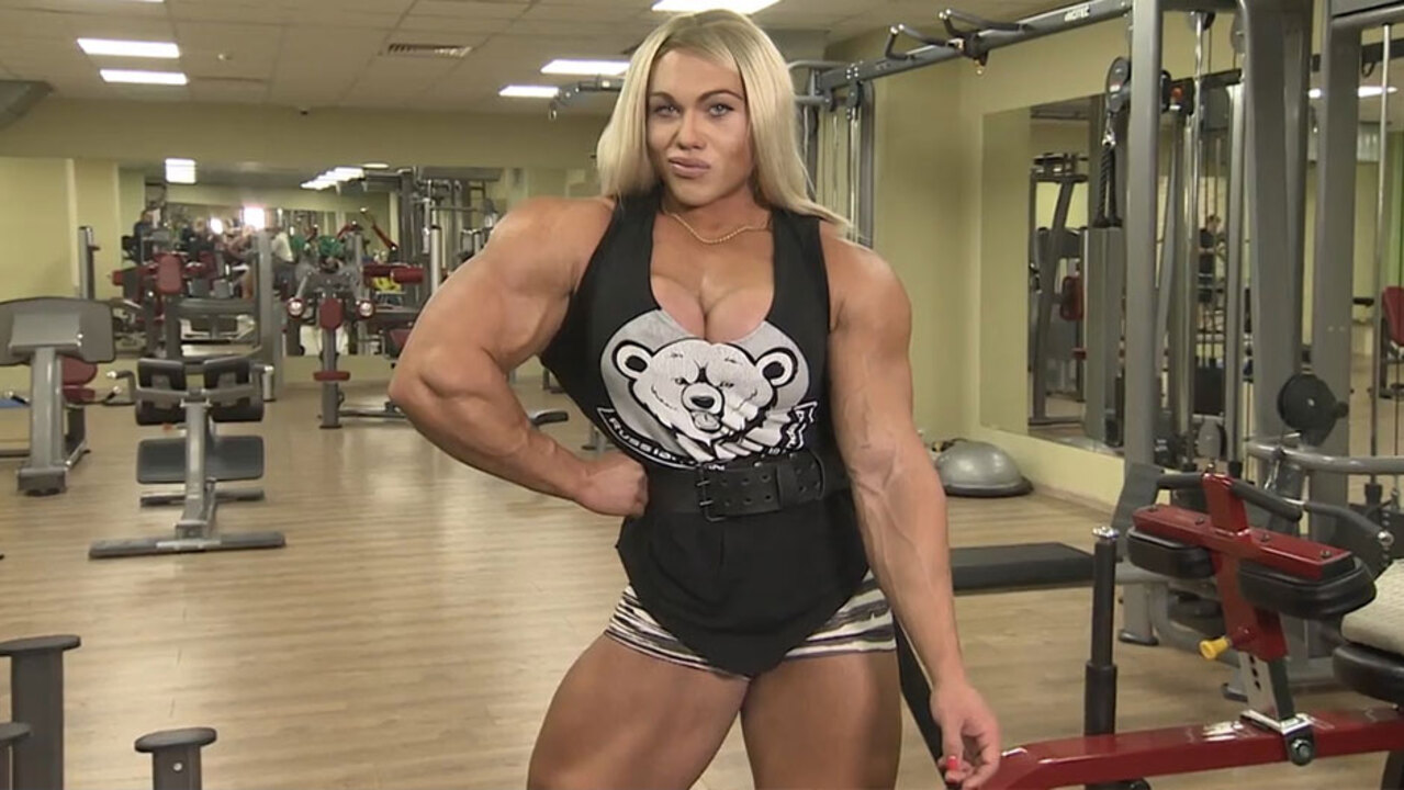 Female bodybuilder Natalia Kuznetsov , 26, returns to the